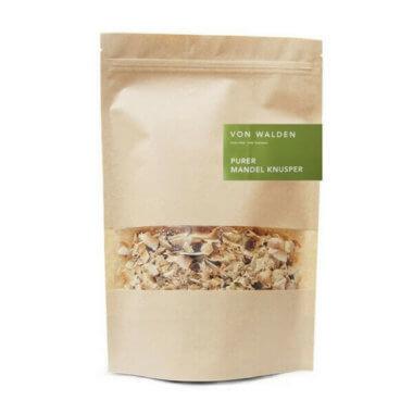 VON WALDEN Purer Mandel Knusper - glutenfeies, low carb Granola