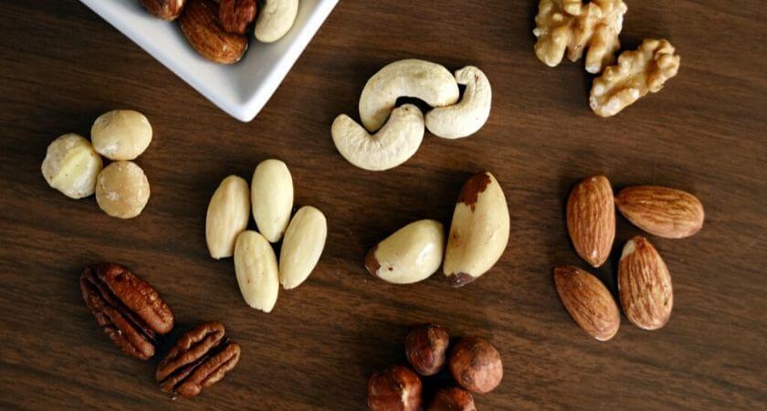 schneller und gesunder Snack - Nüsse, Samen, Kerne