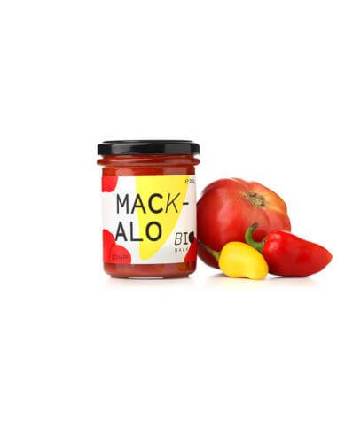 Mackalo, scharfe Sauce